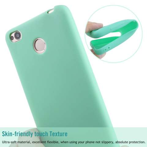 Home; Lize Jelly Case Xiaomi Redmi 4X Candy Rubber Skin Soft Back Case / Softshell