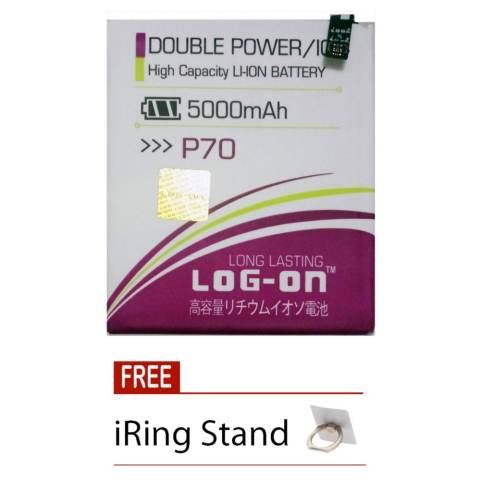 Home; Log On Baterai Lenovo P70 - Double Power Battery - 5000 mAh + Free