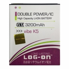 Log On Baterai Lenovo Vibe K5 / Vibe K5 Plus / A6000 / A6010 / A2020 / Vibe C - Double Power Battery - 3200 mAh