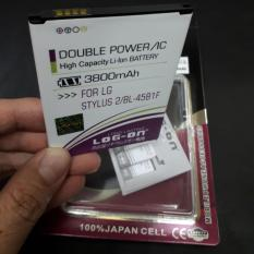 Log On Battery Baterai Double Power LG STYLUS 2 BL-45B1F - 3800mah