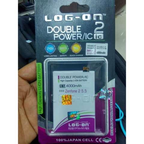 Home LOG ON Battery For ASUS Zenfone 2 55 4000mAh