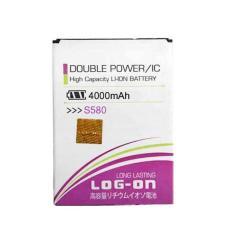 LOG-ON Battery For Lenovo S580 4000mAh - Double Power & IC Battery - Garansi 6 Bulan