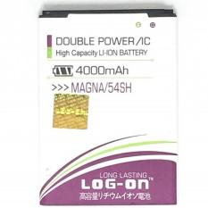 LOG-ON Battery For LG MAGNA / BL-54SH 4000mAh - Double Power & IC Battery - Garansi 6 Bulan