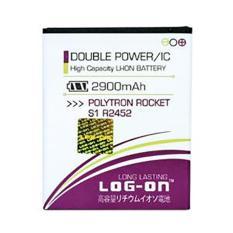 LOG-ON Battery For Polytron R2452  2900mAh Double Power & IC - Garansi 6 Bulan