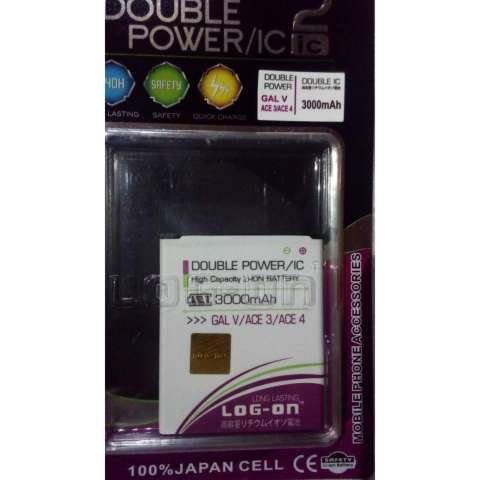 Home LOG ON Battery For Samsung Galaxy ACE3 4 GAL V 3000mAh