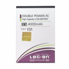 LOG-ON Battery For Vivo Y31 4000mAh - Double Power & IC Battery - Original