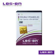 LOG-ON Battery Untuk ACER Liquid Z200 / Z205 / Z220 / M220 - DoublePower & IC - Garansi 6 Bulan