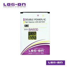LOG-ON Battery Untuk Sony Xperia U / ST25 / BA600 BA-600 - Doubel Power & IC - Garansi 6 bulan