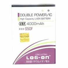 LOG-ON BatteryFor Advan S50F 4000mAh - Double Power & IC Battery - Garansi 6 Bulan