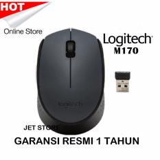 Logitech M170 Wireless Mouse - Hitam  .