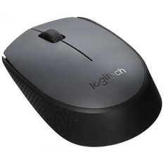 Logitech M170 Wireless USB Mouse-Abu-abu-Intl