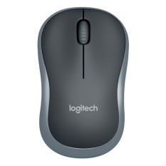 Logitech M185 Wireless Mouse - Abu Abu