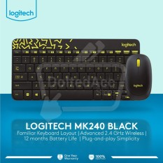 Logitech MK240 Wireless Keyboard Mouse Combo