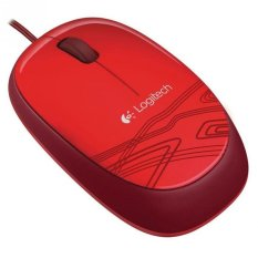 Logitech Original Mouse M105 - Merah