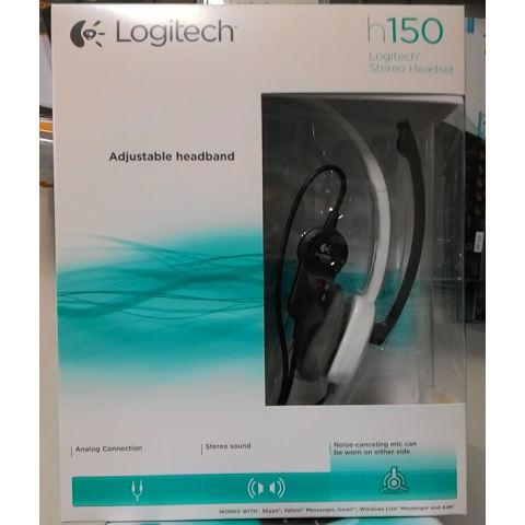 Logitech Stereo Headset H150 [ White ].
