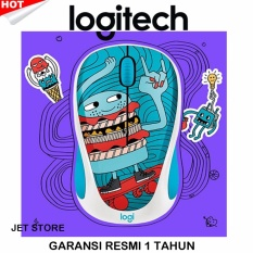 Logitech Wireless Mouse Doodle Collection M238 - Skateburger