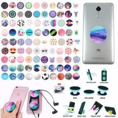 Lucky - iRing Popsocket Anti Drop Phone Grip Model Karakter 1Pcs + Free Ikat Rambut Polkadope - 1 Pcs
