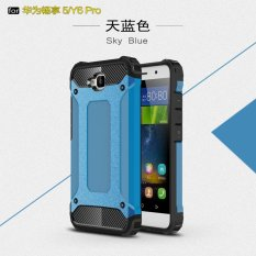 Luxury 2 in 1 Hybrid Durable Shield Armor Shockproof Hard Rugged Phone Case Cover For Huawei Y6 Pro / Honor Holly 2 Plus / Enjoy 5 - intl
