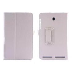 Mewah Folio Leather Case Stand Cover Cocok untuk Acer Iconia Tab8 A1-840 WH-Intl
