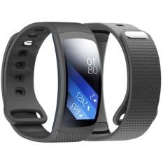 Mewah Jam Tangan Silikon Penggantian Band Strap untuk Samsung Gear Fit 2 Sm-r360-Intl