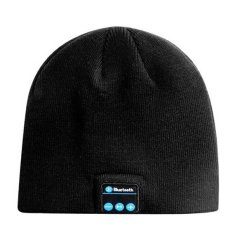 Marlow Jean Bluetooth Knit Beanie with Hands free Calls Topi Kupluk Bluetooth - Hitam