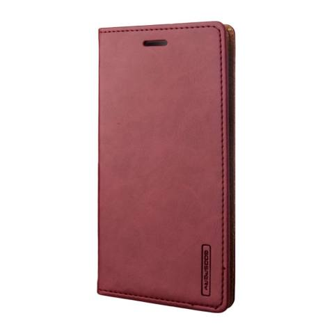 Mercury Bluemoon Flip Case for Xiaomi Redmi Note 2 Wine .