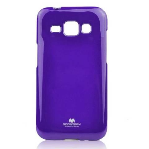 Hitam Cokelat. Source · Mercury Jelly TPU Soft Case untuk Samsung Galaxy Ace 3 Casing Cover - Ungu