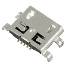 Micro USB Charging Port for Lenovo IdeaTab S6000F/S6000 Tablet (Silver)-