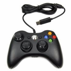 Microsoft Stick Xbox 360 Controller Cable Original / Stik Game - Hitam