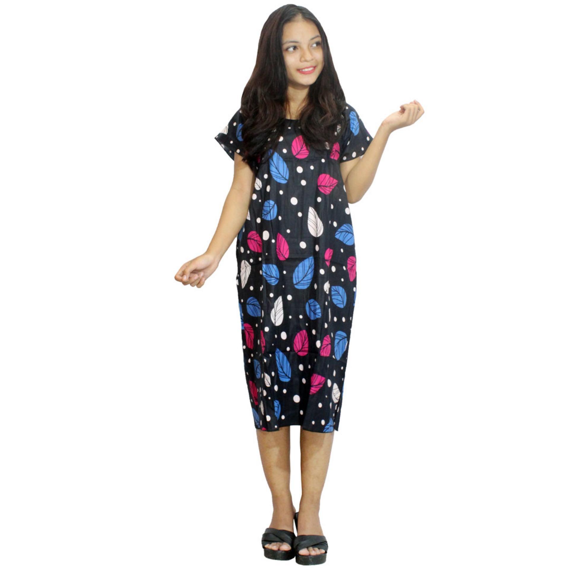 Midi, Daster Midi, Dress Santai, Baju Tidur, Piyama, Atasan Batik (BPT002-01)
