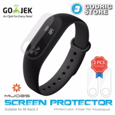 MIJOBS 2 PCS Screen Protector Anti Gores for Xiaomi Mi Band 2 OLED