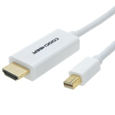 Mini DisplayPort (Thunderbolt™ Port Kompatibel) untuk High-Definition Multimedia Interface Kabel 6 Kaki/10 Kaki-Intl