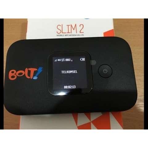 Jual Beli Modem 4g Lte E5577 Bolt Slim 2 Unlock All Operator Hitam