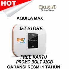 Modem Bolt Aquila Max Wifi 4G LTE - Putih + Bonus Kuota Total 32Gb