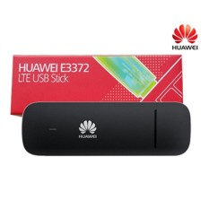 Modem Huawei E3372 4G LTE 150Mbps FDD 900/1800 TDD 2300 - HITAM
