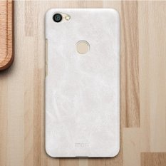 MOFI for Xiaomi Redmi Note 5A Pro / Prime Crazy Horse Texture Leather Surface Protective Back Cover Case (White) - intl