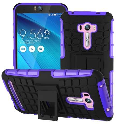 Home Bulan Case Untuk Selfie Asus Zenfone Dilepas 2 In 1 Shockproof Sulit Kasar Mencegah Terpeleset Dual Layer Cover Dengan Standar Built