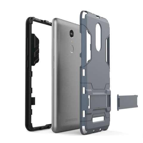 Bulan Case Sarung untuk Xiaomi Redmi Note 3 Detachable 2 In 1 Pelindung Hibrid Case Dual