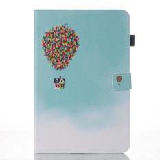 Moonmini Case untuk Samsung Galaxy Tab A 10.1 dengan S Pen P580 Case Dompet Stand Leather Case Flip Cover- Balon Rumah-Intl