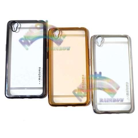 Motomo Chrome oppo Neo 9 A37 Softcase Shining Chrome Glamour Bac Cover / Tpu Jelly Case
