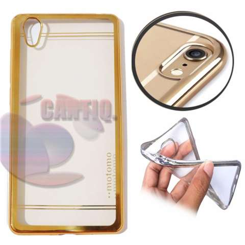 ... PinTo Electroplating Transparent soft Silicone TPU Case case For VIVO Y35 with HD Screen. Source · Home; Motomo Chrome Vivo Y51 Shining Chrome / Silikon ...