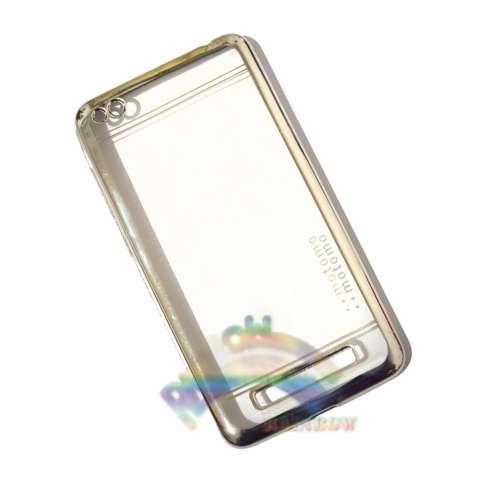 Jual Motomo Chrome Xiaomi Redmi 4a Softcase Shining List Chrome Glamour Tpu Jelly .