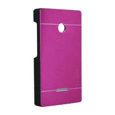 Motomo Metal Case for Lumia 435 - Hot Pink