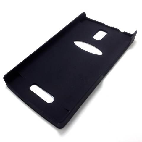 Motomo Metal Case Lenovo A2010 - Biru Dongker