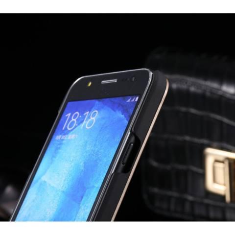 Motomo Samsung Galaxy J1 2016 J120 Hardcase ino metal Backcase Metal Case Samsung Galaxy J1 2016