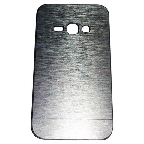 Motomo Samsung Galaxy J1 (2016) J120 / J1 2016 Metal Hardcase Alumunium Case Rubber