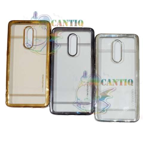 Motomo Softcase Infinix S2 Pro X522 List Chrome TPU Soft Case Shining Infinix X522 / Casing