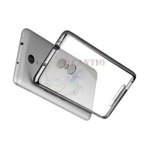 ... Motomo Softcase List Chrome Xiaomi Redmi Note 4 Case Shining Luxury Jelly Silicone Case