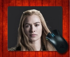 MousePad Cersei Lannister Game Of Thrones Acara TV Halus untuk Mouse Mat 240*200*3mm Gaming Mice Pad-Intl