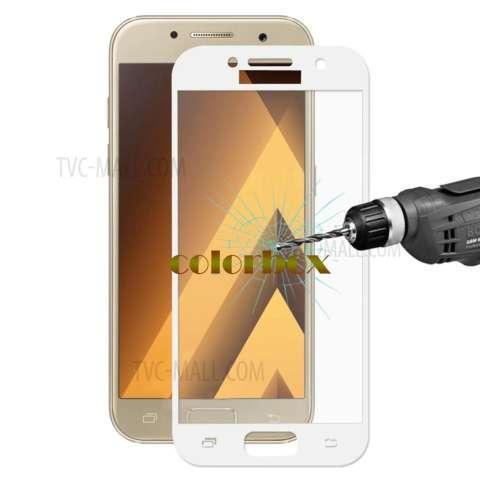 MR Samsung Galaxy A5 2017 A520 Screen Protector Full Screen White Samsung Galaxy A5 2017 A520